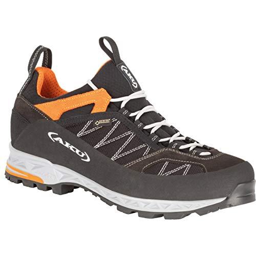 AKU Chaussures de Randonnée Trekking 976-108 Tengu Low GTX Noir Orange Noir, Taille:46 (11 UK)