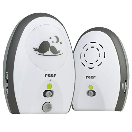 Reer 50020 Babyphone Rigi analog, weiß