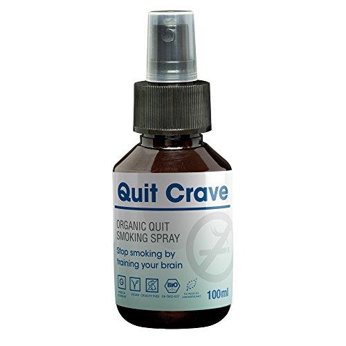 Endlich Nichtraucher werden mit QuitCrave | 100ml Nichtraucher Spray | Rauchentwöhnung Spray Rauchfrei | Nichtraucher Tabletten Alternative