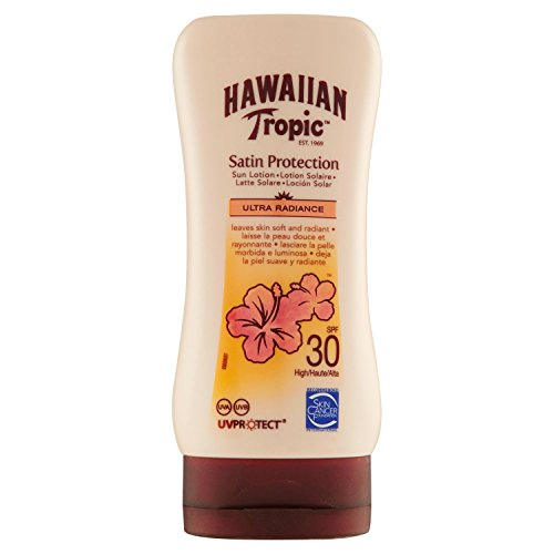 Hawaiian Tropic Satin Protection Sun Lotion LSF 30, 180 ml