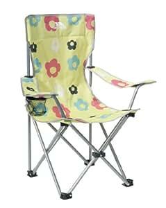 Trespass Kids' Joe Joe Camping Chair - Lemongrass Print, One Size