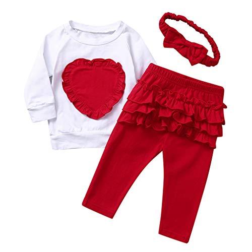 Honestyi BabyBekleidung Bekleidungssets für Baby-Mädchen Outfits Set