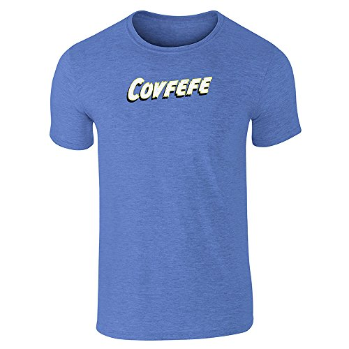 Pop Threads Herren T-Shirt Heather Royal Blue