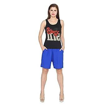 Vivaa Rayon Shorts for Women/Girls Regular Fit & Comfortable Shorts