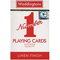 "Waddingtons ""Number 1"" Playing Cards (Colours may vary)"