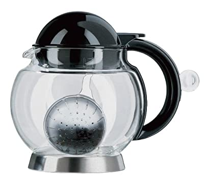 Emsa 1200149700 Hot Théière Anthracite Transparent 1,4 L