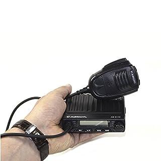 Albrecht 6110 Multistandard AM/FM CB-Funkgerät für Europa im Slim-Line Format