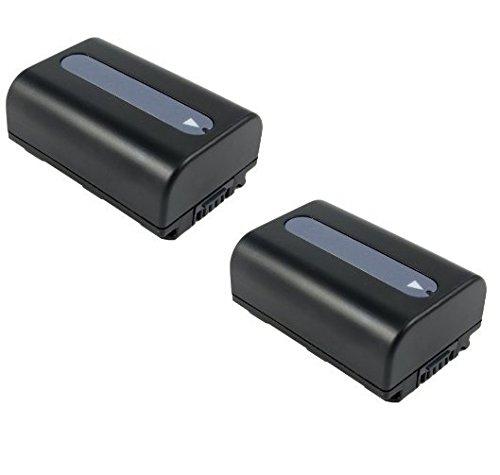 Preisvergleich Produktbild 2x Premium Akku NP-FV50 für Sony HDR-CX450, Sony HDR-CX625