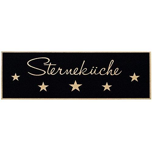 """MD-Entree 7701515748 Küchenläufer """"Sterneküche"""", Abmessungen 50 x 150 cm, Polyamid, mehrfarbig, 68 x 38 x 38 cm"""