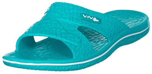 Scarpe da bagno da donna, per piscina o spiaggia, in colore turchese, taglia 36 fino a41, turchese (turchese), 36 eu
