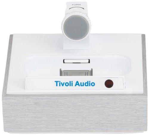 Tivoli The Connector Romanticized Berth/Charger für iPhone/iPod in Blurred Aluminium