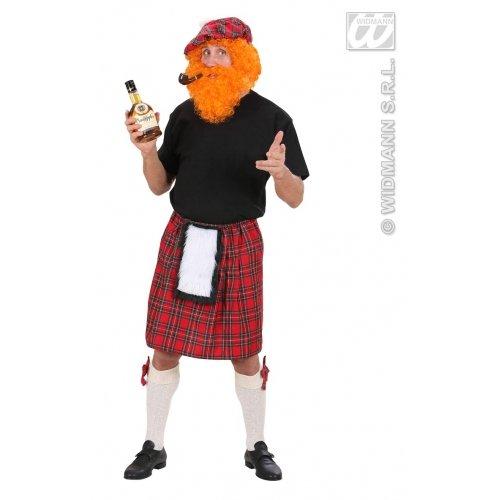 Scozzese Kostüm - LIBROLANDIA 70751 KILT SCOZZESE, Gr. S