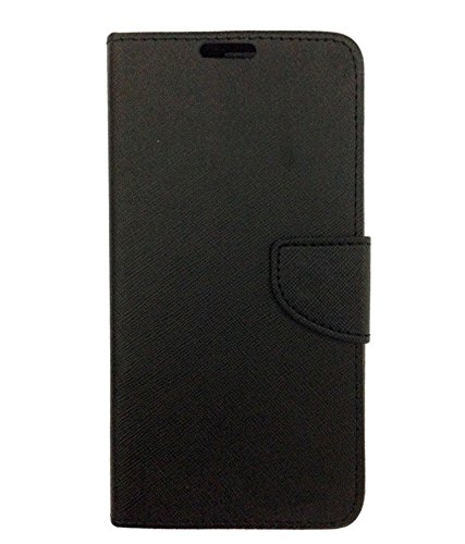 DESIGNERZ HUB FLIP Cover for MICROMAX YU Y Unique-Black
