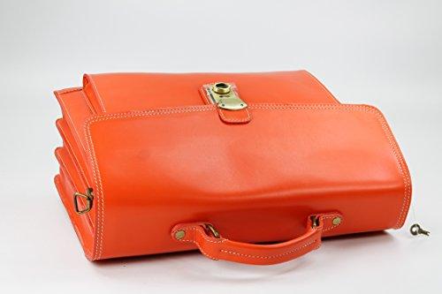 Belli , sac à main femme Orange