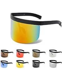 JINPENGRAN Gafas de Sol de Sombrero - Gafas - Gafas de Moda Sombrero de Caja de