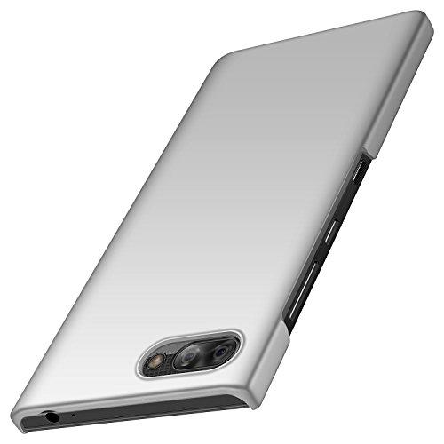 Design Blackberry (anccer BlackBerry Key2 Hülle, [Serie Matte] Elastische Schockabsorption und Ultra Thin Design für BlackBerry Key2 (Glattes Silber))