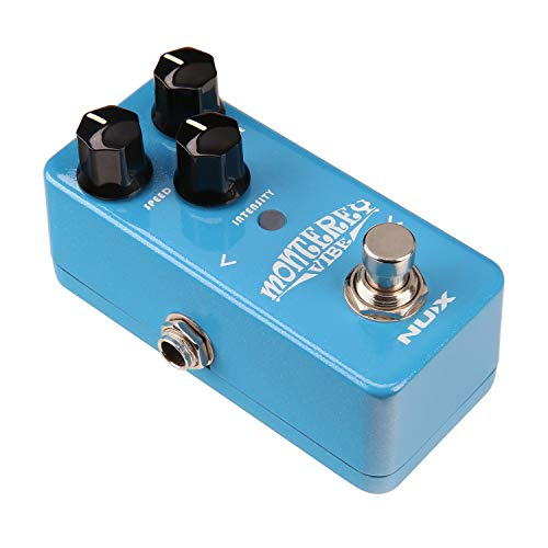 Price comparison product image Nux Monterey Vibe Guitar Effects Pedal Vibrato Guitarra Vibe pedal Analog Sound with Upgraded Hardware
