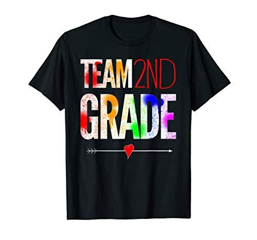 Team 2te klasser Zurück in die Schule für lehrer T-Shirt (Zurück Zu Lehrer Schule-geschenke Für)