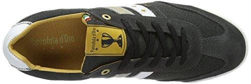 Pantofola d'Oro Vasto Canvas Uomo Low, chaussons d'intérieur homme Multicolore (Black)