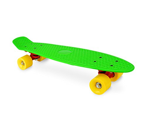 Skateboard mini cruiser da bambini Skate'n Go con ruote tavola da skate 56 cm DI (60 Mm Skateboard Ruote)