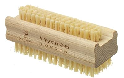 Extra Tough Wooden Nail Brush With Firm Cactus Bristles