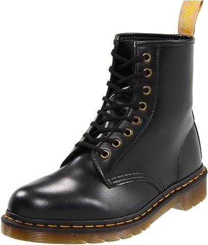 Dr Martens Vegan 1460, Boots mixte adulte - Noir (Noir black), 40 EU (7 UK)