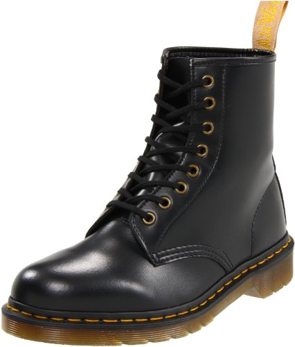 Dr Martens 1460 Vegan Black, Boots mixte adulte
