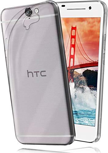 moex HTC One A9 | Hülle Silikon Transparent Klar Clear Back-Cover TPU Schutzhülle Dünn Handyhülle für HTC One A9 Case Ultra-Slim Silikonhülle Rückseite