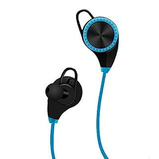 Abestair Technology, kabellose Nackenbügel-Kopfhörer, In-Ear, geräuschisolierend, Ohrhörer mit Mikrofon und Stereo für Sport, mit magnetischem Halt