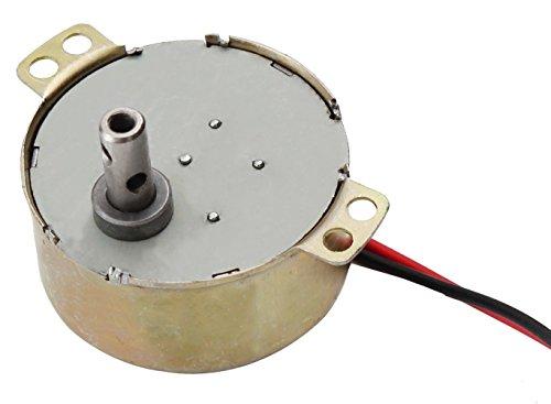 Getriebemotor 230V 50Hz Langsamläufer 10 verschiedene Geschwindigkeiten (5 U/min)