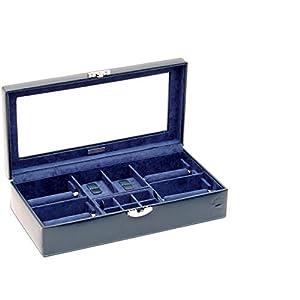 Real Madrid – Handgefertigte Premium Leder Uhr Travel Case. Auch für Armbänder. RMJ-80010P