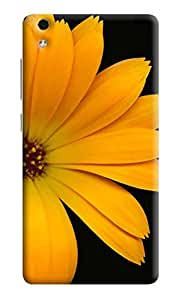 LYF Water 5 Printed Back Cover with tempered glass UV (Soft Back) By DRaX®