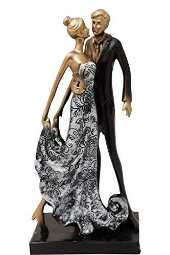 Aica-Gifts-Designer-Romantic-Love-Couple-Showpiece-StatueGift-for-GirlfriendBoyfriendHusband-and-WifeGift-for-WeddingannviersaryBirthday-and-Valentines