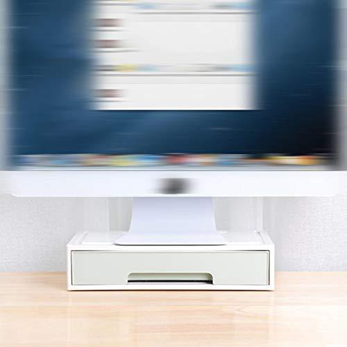Computer-Desktop-Desktop-Büro-Ständer-Display-Tastatur Erhöhen Sie Standfuß Pad Hohe Rack-Halterung Finishing Storage Box -
