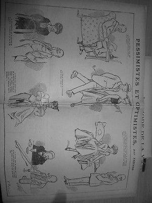 1916 E9 DESSIN MODE VICTOIRE BOCHE VESTE REVERS COSTUME MINIATURE PERSANE (Veste Costume Dessin)