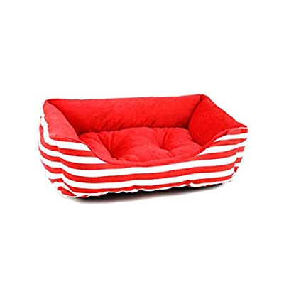8haowenju Dog Bed, Cat Bed, Winter Cat Dog Bed, Long Hair Pet Nest Deep Sleep Teddy Puppy Be Comfortable and comfortable from 8haowenju