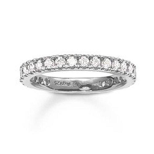 Thomas Sabo Damen-Ring 925 Silber Zirkonia weiß Gr. 54 (17.2) - TR1981-051-14-54