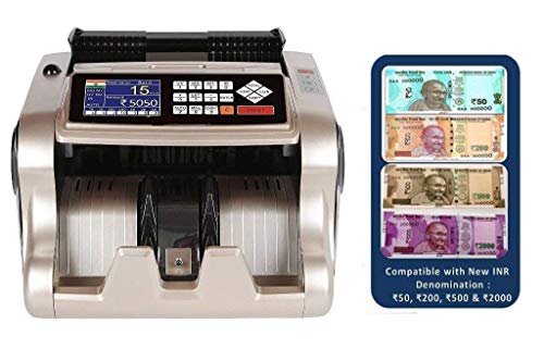 ZEXA Value Mix Note Counting Machine Fully Automatic with Fake Note Detection