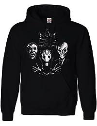 Inspired DOCTOR Queen 4 face style Evil Alien HOODED SWEATSHIRT Printed Hoodies, hoodie plus 1 T shirt