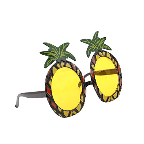 Lalang Hawaiian Pineapple Stil Beach Gläser, Partybrille Party Dekoration