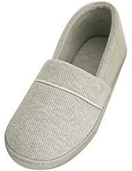SAGUARO® Mujer Zapatillas Otoño Invierno Pantuflas De Interior Suave Zapatilla De Estar Por Casa