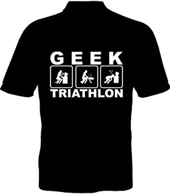 Fruit of the Loom T-Shirt - Geek Triathlon