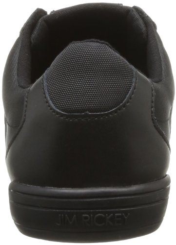 Jim Rickey Stealth Leather Mesh, Baskets mode homme Noir (Full Black)