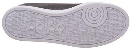 adidas Advantage Vs W, Scarpe da Ginnastica Basse Donna Nero (Core Black/Matt Silver/Ftwr White)