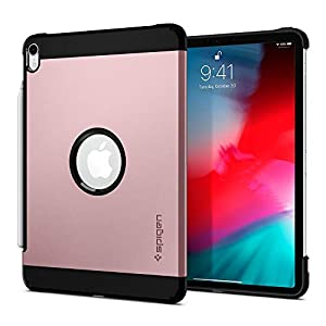 Spigen Tough Armor Designed for Apple iPad Pro 11 Case (2018) - Rose Gold