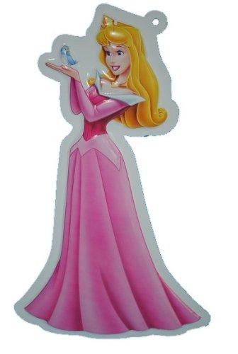 Unbekannt XL - 3-D Disney Prinzessin Wand Bild Aurora Dornröschen Princess Mädchen rosa - Kinder / Wanddeko für das Kinderzimmer - aus als Türschild - Wandbild