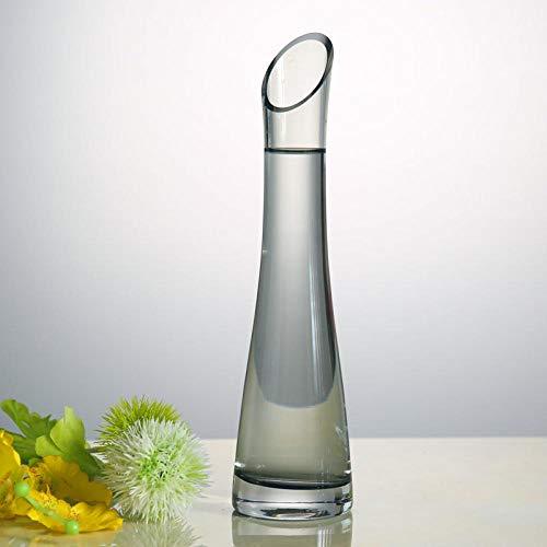 Anfangs unver ndert Einfache kreative Dekoration der Glasvasenfarbe@60240 Ruß Russ Vase