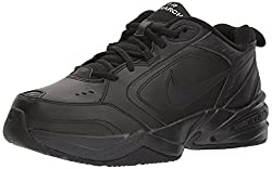 Nike Air Monarch Iv Men Us 13 Black Walking Shoe
