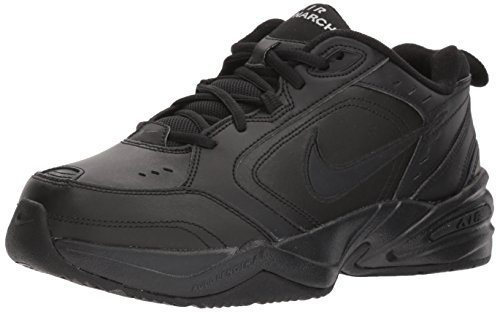 Nike Herren Men\'s Air Monarch Iv Training Shoe Sneaker Schwarz Black 001, 45 EU