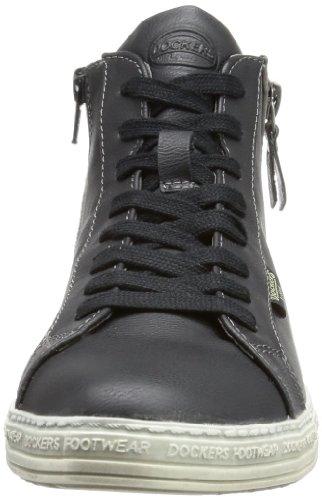 Dockers by Gerli 336055-030001 Damen Hohe Sneakers Schwarz (schwarz  001)